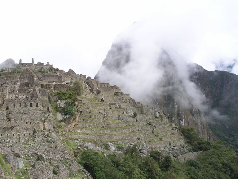 Machu Picchu and more clouds