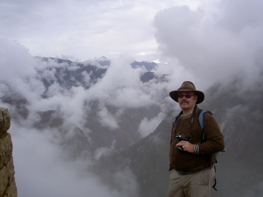 Me, Machu Picchu and more clouds